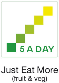 Try and eat 5 A Day - everyday