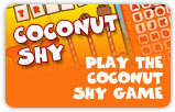 Coconut Shy - Play the coconut shy game
